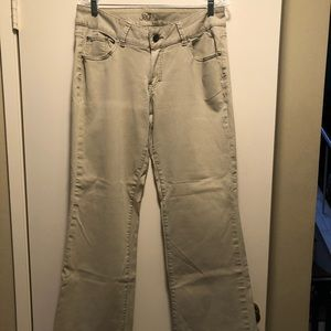 Stretch Jean by JAG. Size 16 Tan